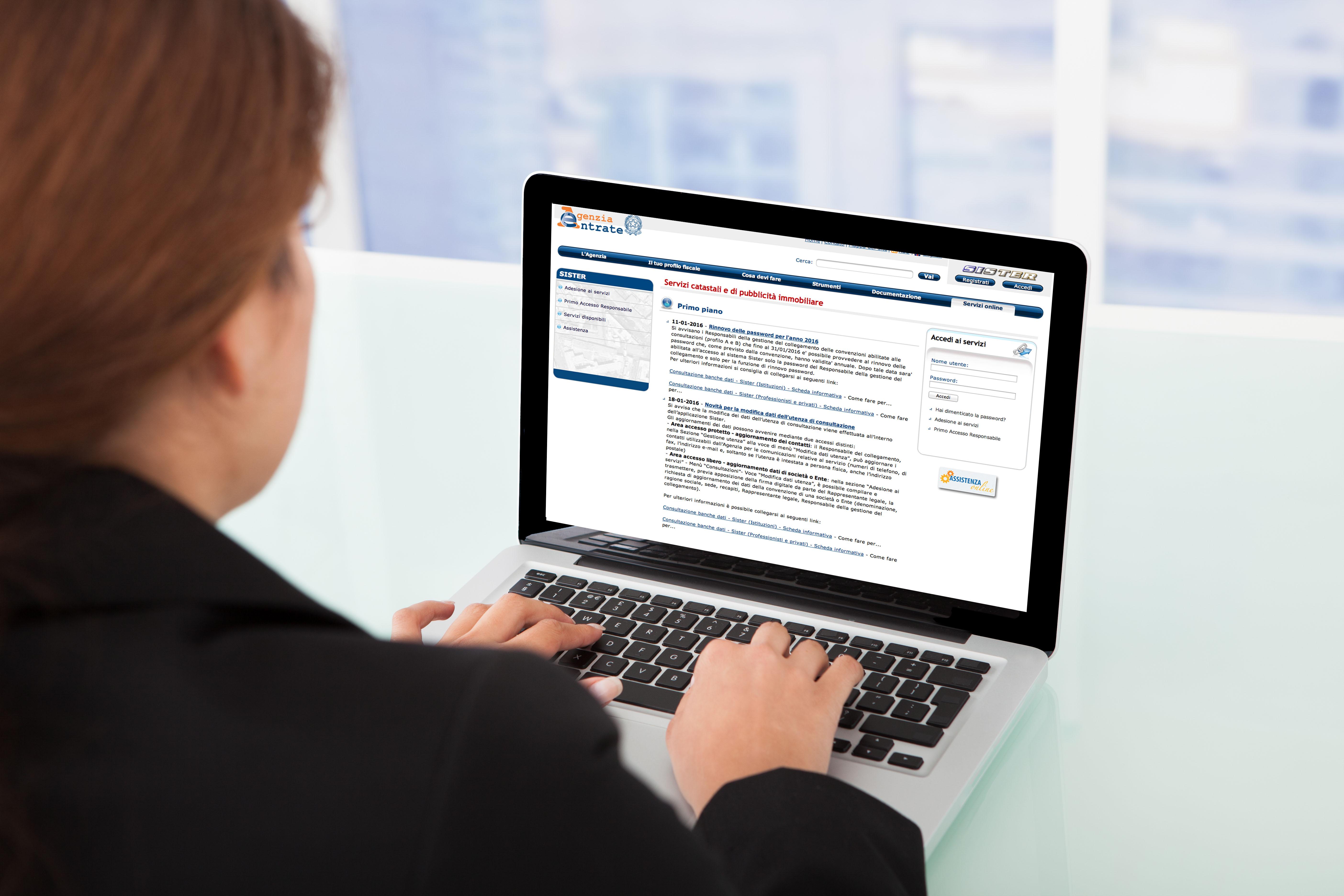 Consultazione gratuita dei dati ipotecari e catastali e for Visure immobiliari